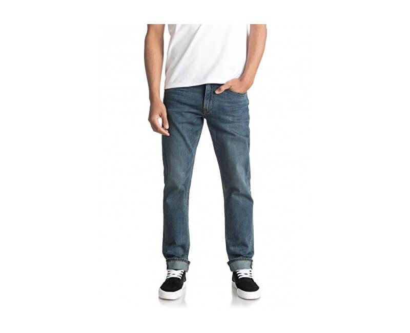 Quiksilver Pánské kalhoty Revolvermedblue Medium Blue EQYDP03345-BYGW