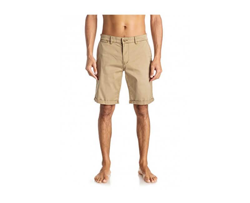 Quiksilver Pantaloni scurți Kranda Chino St Elmwood EQYWS03324-TMP0 pentru bărbați