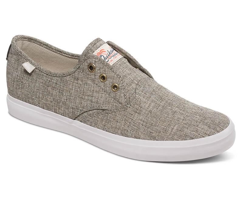Quiksilver Pánské tenisky Shorebreak Deluxe Grey/Grey/White AQYS300061-XSSW