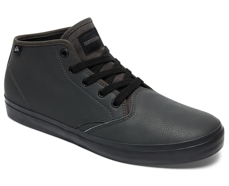 Quiksilver Pánské tenisky Shorebreakpmmid Grey/Grey/Black AQYS300064-XSSK