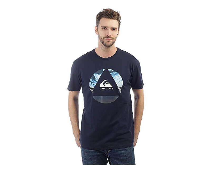 Quiksilver Herren T-Shirt Ss Classic Fluid Turns Navy Blazer EQYZT04893-BYJ0 730e9dd2ca