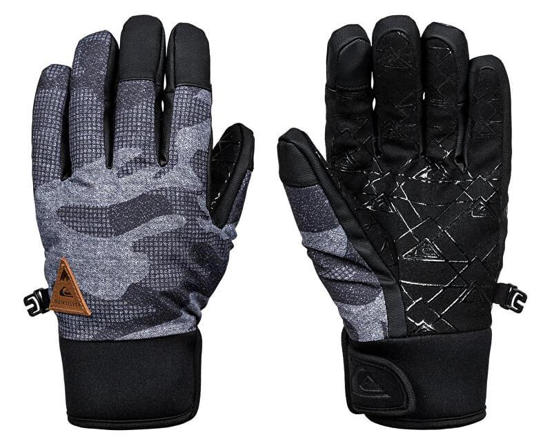 Quiksilver Rukavice Method Glove Black Camokazi EQYHN03082-KVJ9