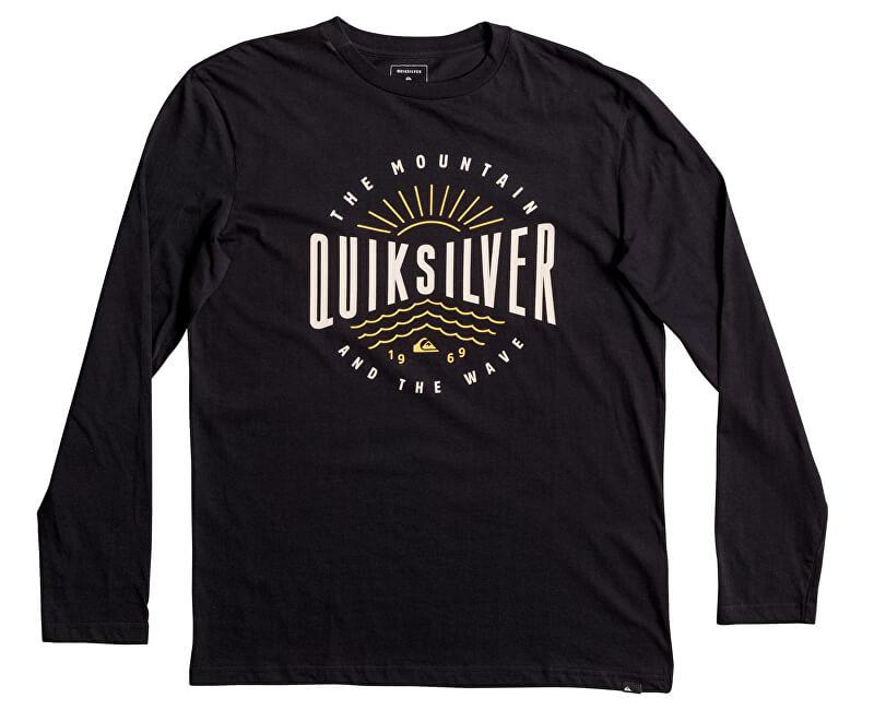 Quiksilver Triko Lsclassictemadw Black EQYZT04561-KVJ0