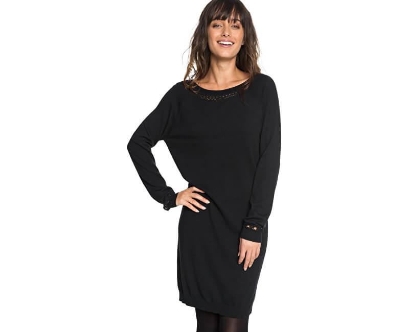 Roxy Dámske šaty Expression Of Nature True Black ERJKD03204-KVJ0