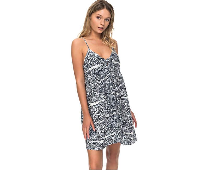 75a31d2c2e06 Roxy Dámske šaty Good Surf Only Dress Marshmallow Tribal Vibes Stripe  ERJX603105-WBT4 ...