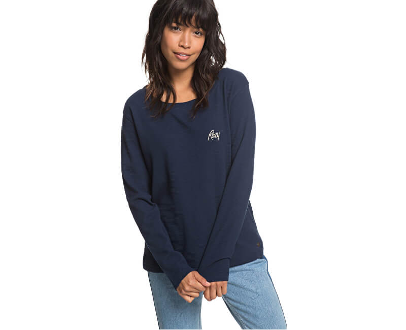 5cd8fe936539 Roxy Dámske tričko Cold Blue Rain Dress Blue s ERJZT04366-BTK0 ...