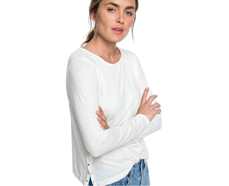1e6f5f094b09 Roxy Dámske tričko Lonely Night Marshmallow ERJKT03470-WBT0 ...