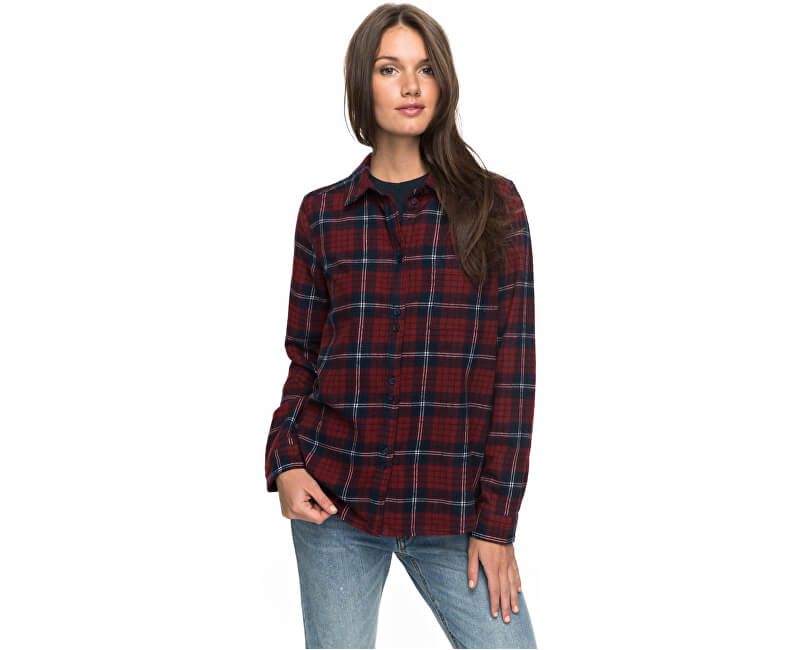 de33a08348a Roxy Dámská košile Heavy Feelings Long Sleeve Shirt PERJWT03149-XRRB ...