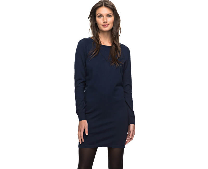 Roxy Šaty Winter Story Dress Blues Heather ERJKD03139-BTKH