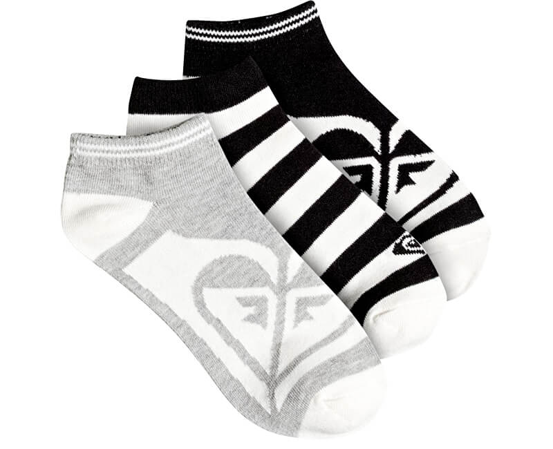 Roxy Set ponožek Ankle Socks Anthracite ERJAA03343-KVJ0