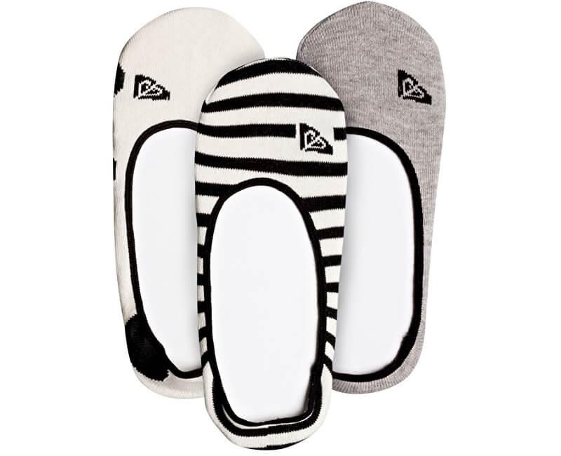 Roxy Set ponožek No Snow Socks Anthracite ERJAA03342-KVJ0