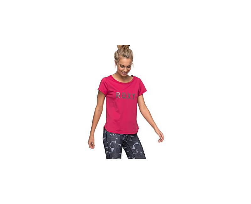 Roxy Dámské sportovní triko Sh W Tee Red Bud ERJKT03297-MQG0