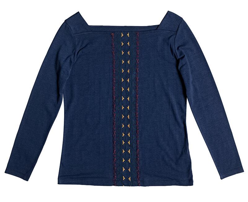 Roxy Dámské triko Cabo Esikat Geo Dress Blues ERJZT04039-BTK0