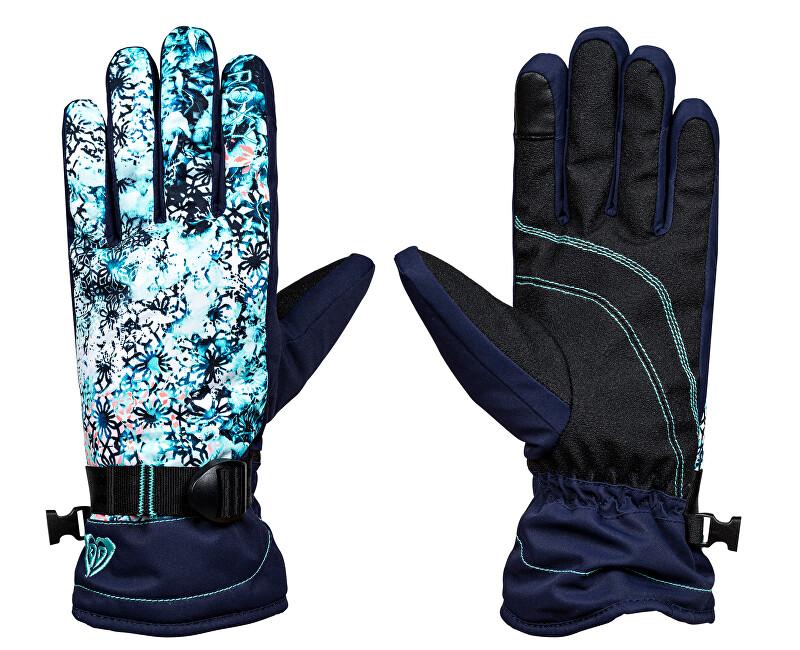 Roxy Mănuși de iarnă Rx Jetty Gloves Kaleidos Flowers de Flowers ERJHN03068-BFK9
