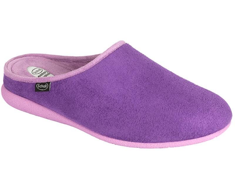 71d7ab238e35 Scholl Dámske šľapky Chika Memory Cushion Purple Lilac F267442116 ...