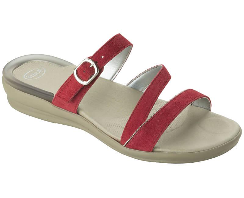 Scholl Pantofi Elinor Gelactiv Red F265241051