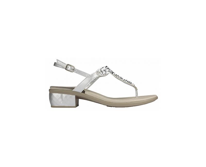 Scholl Dámské sandále Dollie Gelactiv Silver F270841057