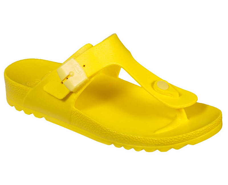 Scholl Dámske žabky Bahia Flip-Flop Fluo Yellow F274541174