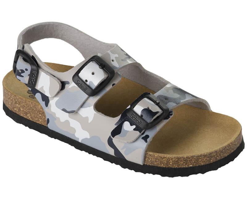 Scholl Detské sandále Air Bag B/S Kid Bioprint Multi Grey F265741865