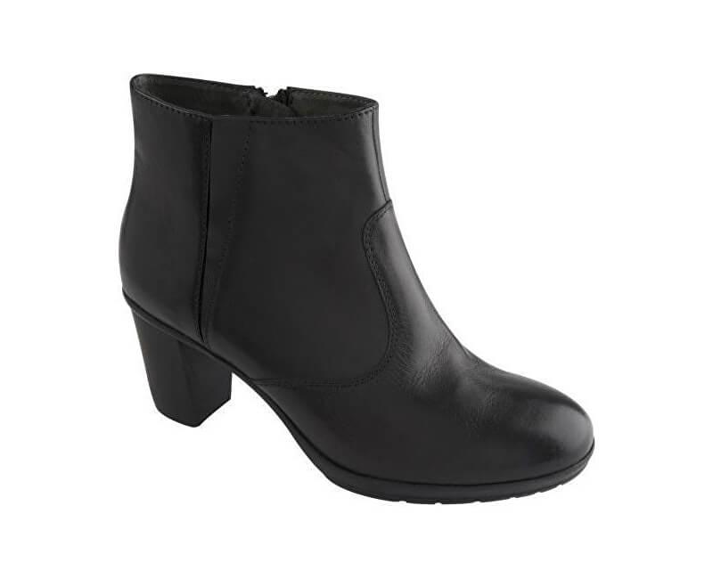 Scholl Kožené členkové topánky Orelle Memory Cushion Black F263671004 2022ec5bdd0