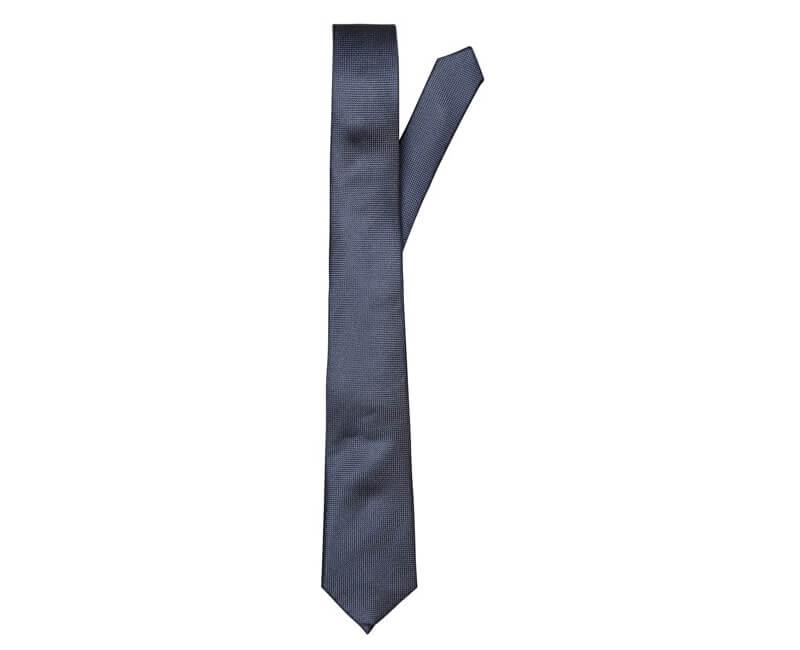 1efc86a4c1 SELECTED HOMME Férfi nyakkendő új textúrájú nyakkendő 7cm Noos B Dark zafír  Új