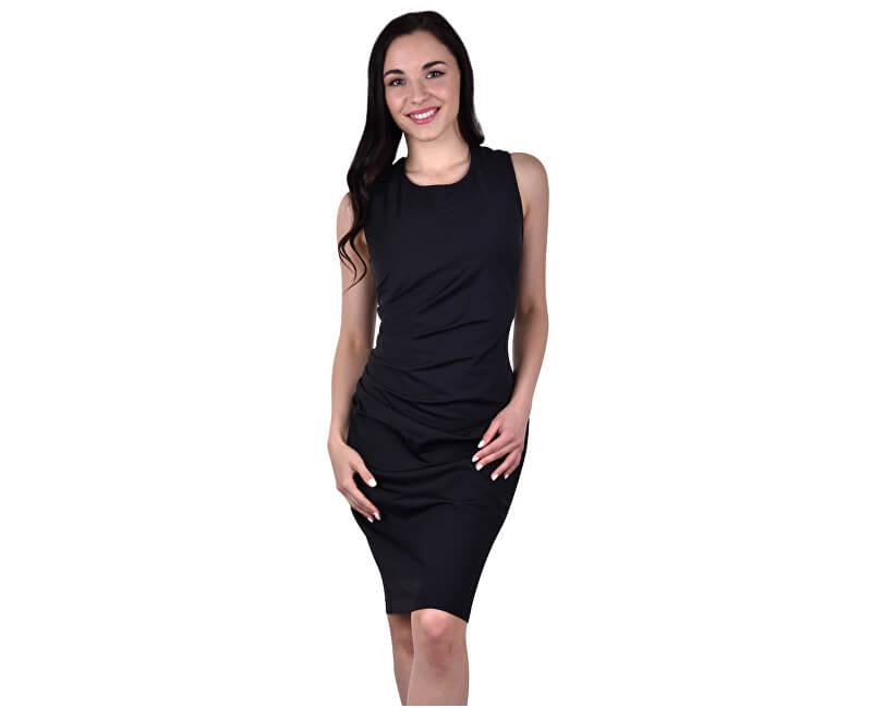 Smashed Lemon Femeie scurtă rochie Black 17805/02