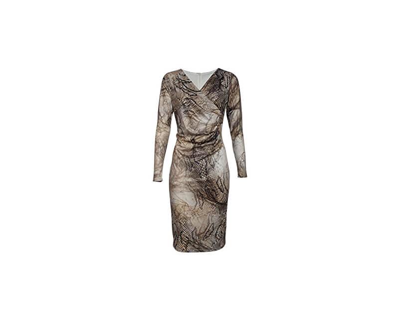 Smashed Lemon Femeile rochie scurta Creme 170003/11