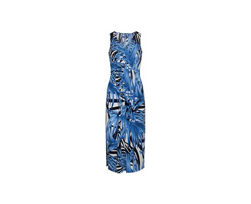 Smashed Lemon Dámske šaty 19353 White/Blue