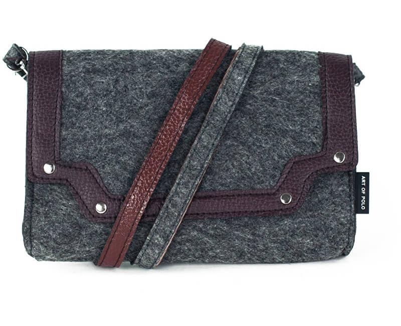 e30543fb67 Art of Polo Dámská filcová crossbody kabelka Elegant - šedá tr15121.1 -  SLEVA
