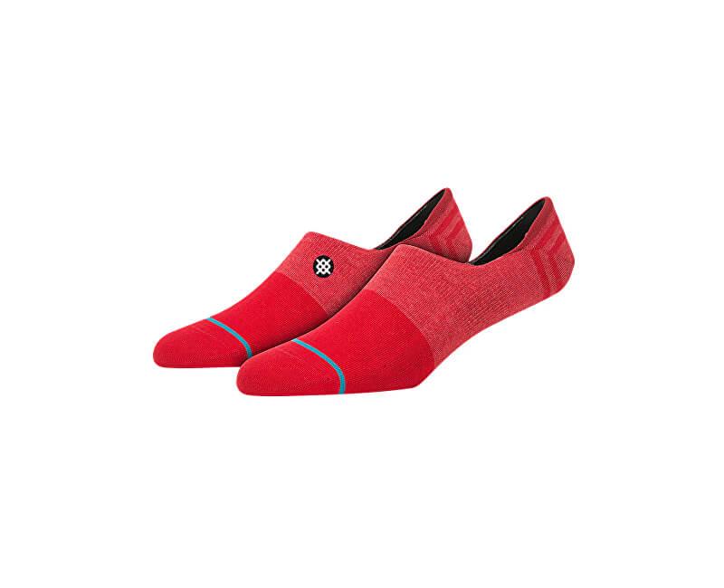 Stance Dámské kotníčkové ponožky Uncommon Invisible Red W115A18UNC-RED