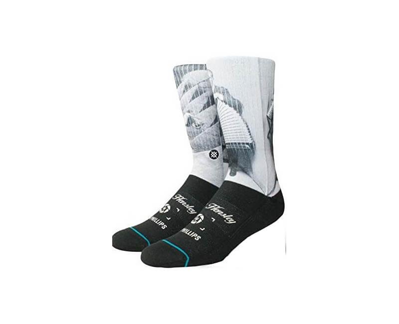 Stance Pánské ponožky M Hensley Black M556A18HEN-BLK