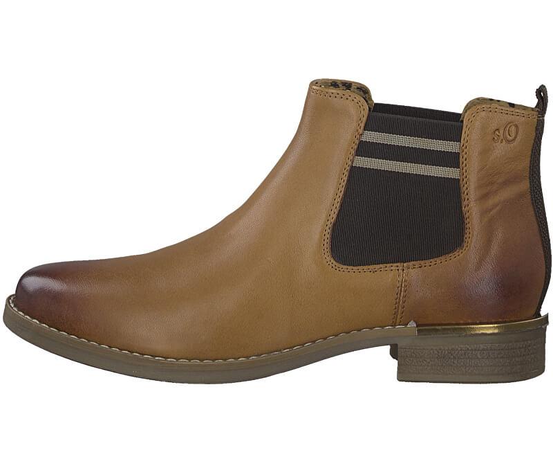 S.Oliver Femeile boots Cognac 5-5-25335-33-305