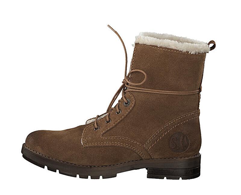 s.Oliver Dámské kotníkové boty Cognac 5-5-26106-21-305