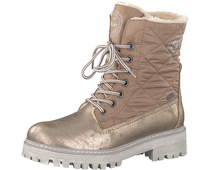 s.Oliver Dámské kotníkové boty Rose Metallic 5-5-26250-39-519