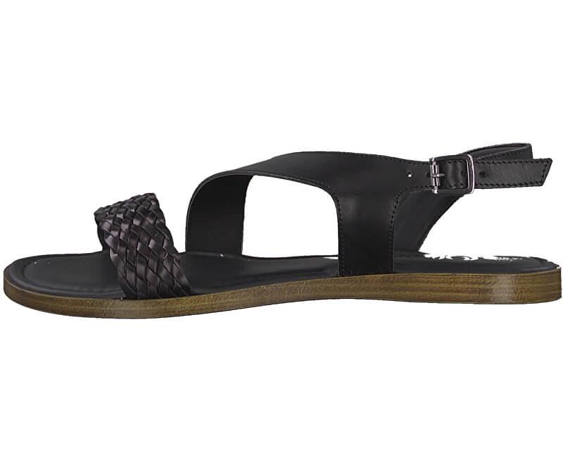S.Oliver Dámske sandále 5-5-28127-32-001 Black