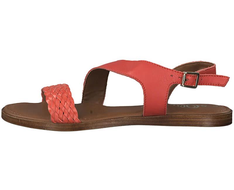 S.Oliver Dámske sandále 5-5-28127-32-661 Sunset