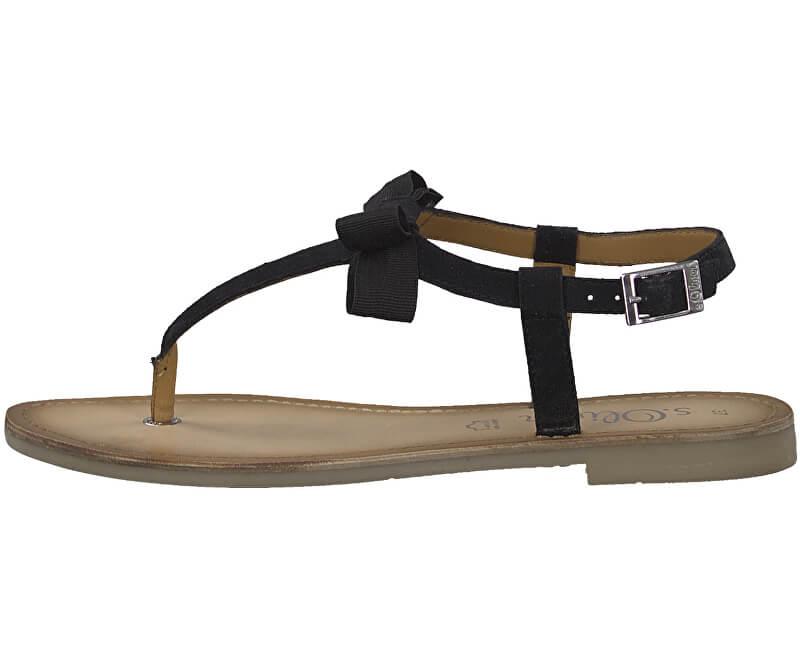 s.Oliver Dámské sandále Black 5-5-28110-32-001