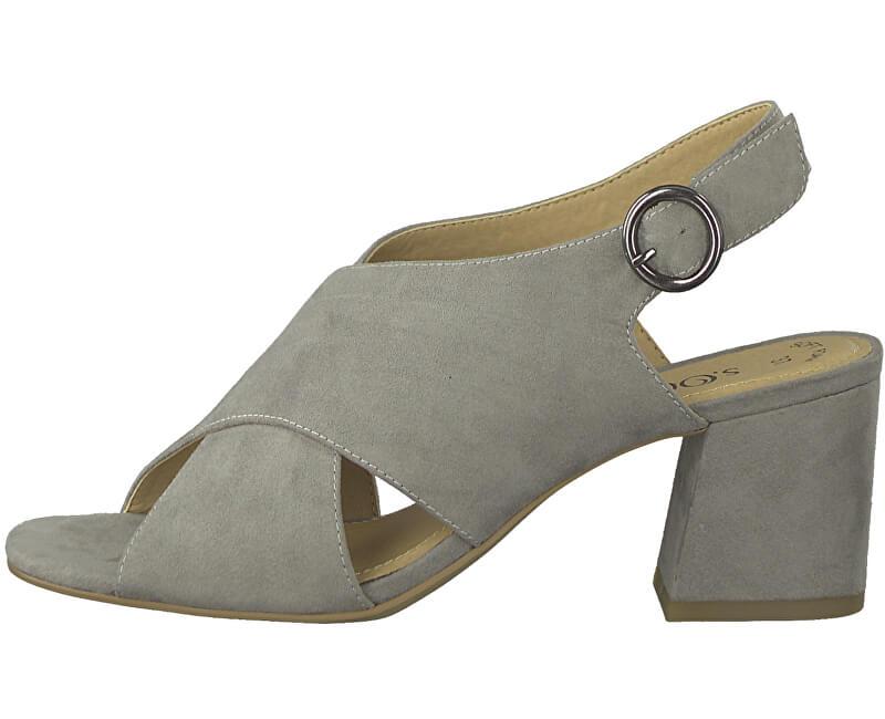 S.Oliver Dámske sandále Lt. Grey 5-5-28311-22-210