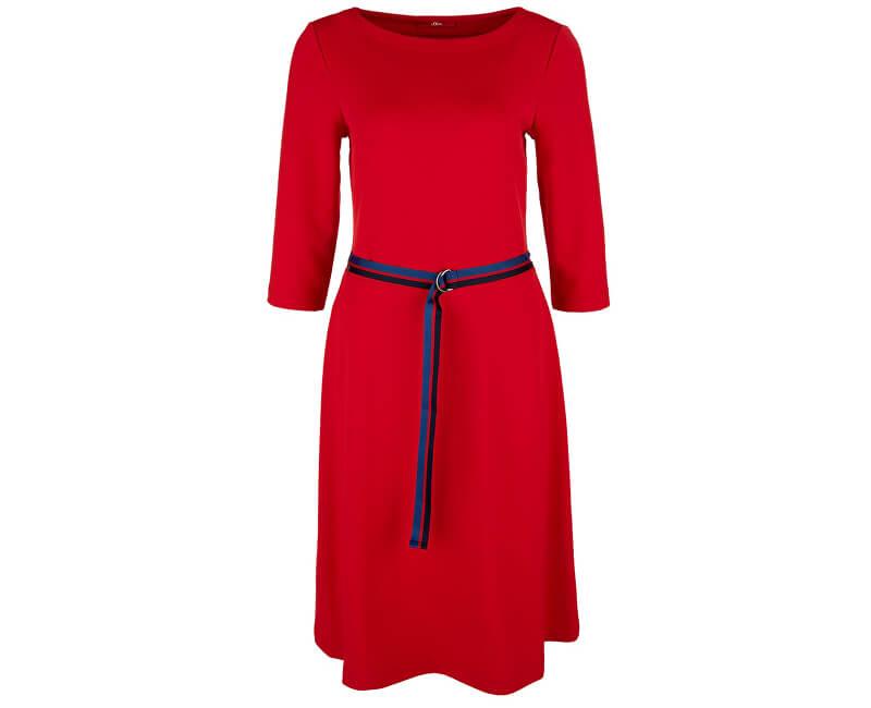 S.Oliver ZĽAVA - Dámske šaty 14.902.82.5081 .3123 Red