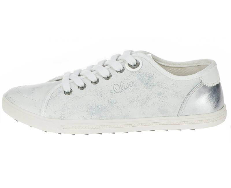 s.Oliver Dámské tenisky White/Silver 5-5-23631-22 193