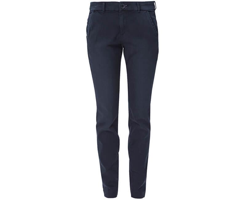 2551eb97e619 S.Oliver Dámské tmavě modré kalhoty Chino Ankle Doprava ZDARMA ...