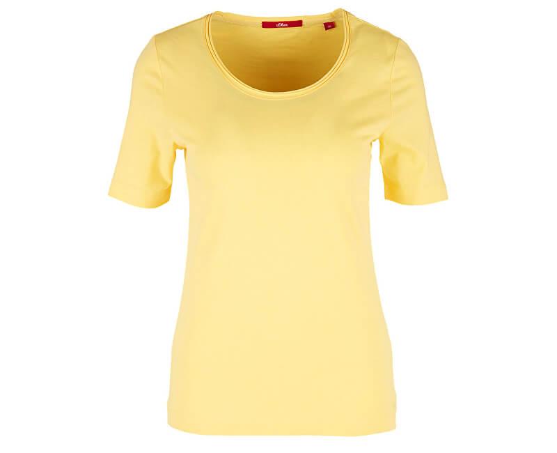 S.Oliver Dámske tričko 14.905.32.2796.1355 Bright Yellow