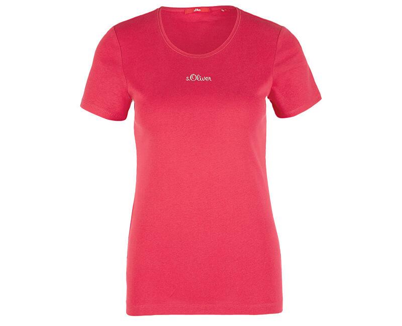 S.Oliver Dámske tričko 14.906.32.5070.4565 Dark Pink
