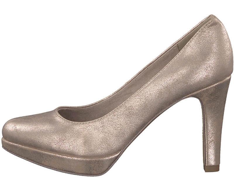 s.Oliver Elegantní dámské lodičky Champagner 5-5-22420-39-404