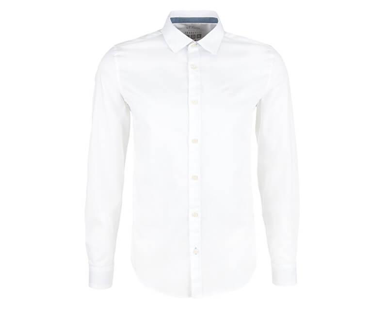 s.Oliver Pánská košile 03.899.21.4533.0100 White
