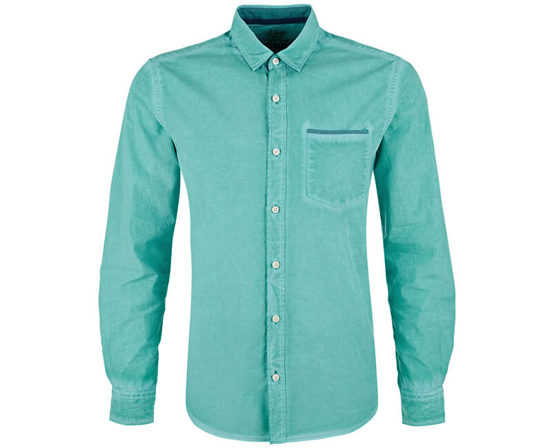32e3f1ae47 S.Oliver Pánska košeľa 13.803.21.2830.6601 Pale Green ...