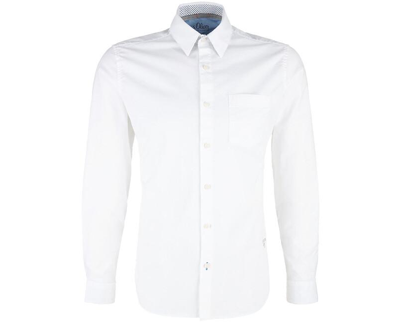 73b7afd3f S.Oliver Pánska košeľa 13.901.21.5205.0100 White | Vivantis.sk - Od ...