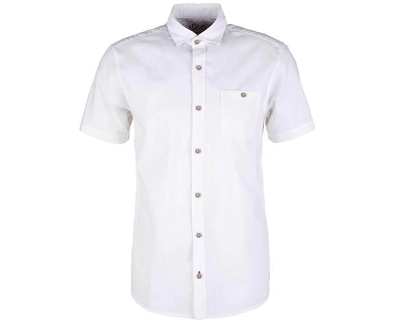 S.Oliver Pánska košeľa 13.906.22.2232.0100 White