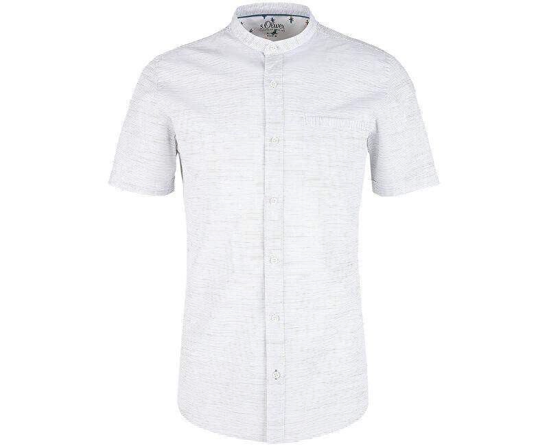 S.Oliver Pánska košeľa 13.906.22.2233.01G8 White