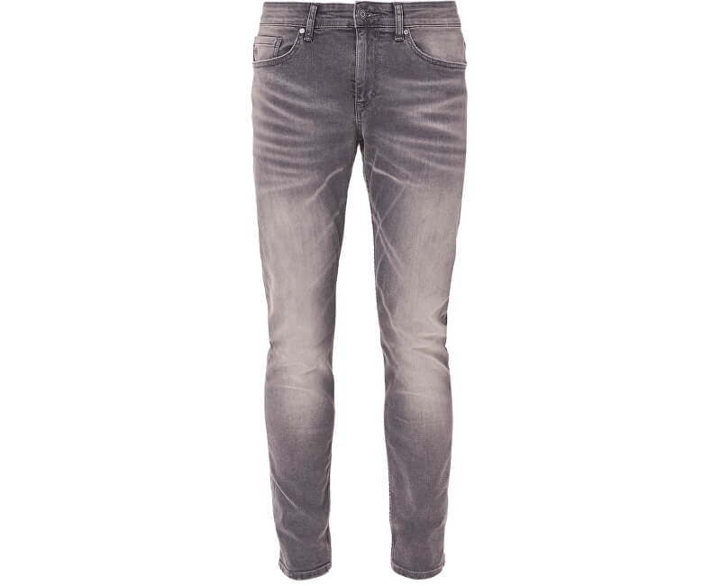 300b0f913 S.Oliver Pánske sivé nohavice Skinny dĺžka 32 Doprava ZDARMA ...